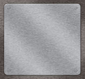 Priorità bassa del metallo Fotografia Stock Libera da Diritti
