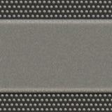 Priorità bassa del metallo con i puntini Fotografia Stock Libera da Diritti