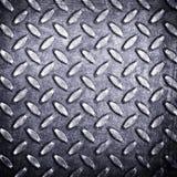 Priorità bassa del metallo del diamante Fotografia Stock