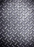 Priorità bassa del metallo del diamante Fotografia Stock Libera da Diritti