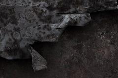 Priorità bassa del metallo di Grunge Fotografia Stock Libera da Diritti