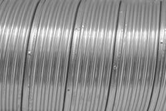 Priorità bassa del metallo di Sliny Fotografie Stock Libere da Diritti