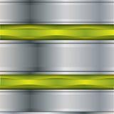 Priorità bassa del metallo di vettore Fotografia Stock Libera da Diritti