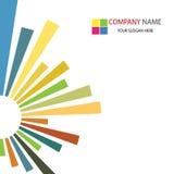 Priorità bassa del modello di affari corporativi Fotografia Stock