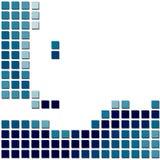 Priorità bassa del mosaico di vettore Fotografie Stock