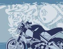 Priorità bassa del motociclo illustrazione di stock