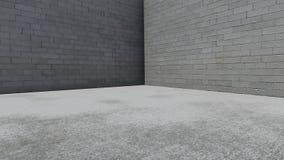 Priorità bassa del muro di cemento royalty illustrazione gratis