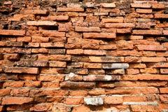 Priorità bassa del muro di mattoni Fotografie Stock Libere da Diritti