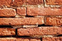 Priorità bassa del muro di mattoni Fotografia Stock Libera da Diritti