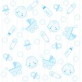 Priorità bassa del neonato royalty illustrazione gratis