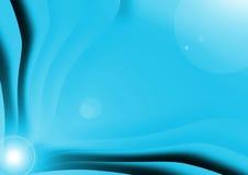 Priorità bassa del nero blu Fotografie Stock