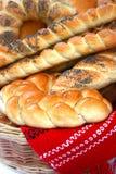 Priorità bassa del pane Fotografia Stock