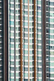 Priorità bassa del particolare della costruzione del condominio dell'appartamento Fotografie Stock