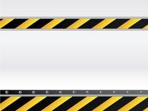Priorità bassa del pericolo con testo illustrazione vettoriale
