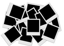 Priorità bassa del Polaroid Fotografia Stock