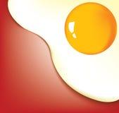 priorità bassa del primo piano dell'uovo fritto royalty illustrazione gratis