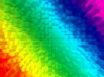 Priorità bassa del Rainbow Fotografia Stock Libera da Diritti