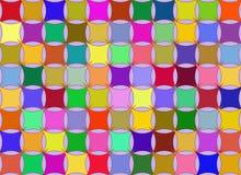Priorità bassa del Rainbow del cuscino Fotografie Stock
