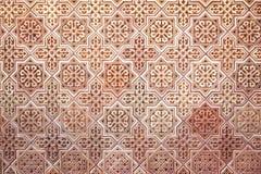 Priorità bassa del reticolo arabo Fotografia Stock
