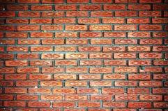 Priorità bassa del reticolo del mattone dell'argilla Fotografia Stock