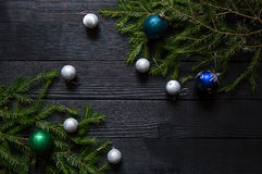 Priorità bassa del `s di nuovo anno Fotografia Stock