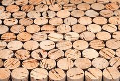 Priorità bassa del sughero del vino Fotografia Stock