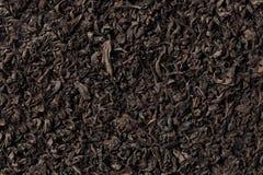 Priorità bassa del tè nero Immagine Stock