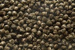 Priorità bassa del tè verde Fotografie Stock