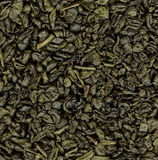 Priorità bassa del tè verde Fotografie Stock Libere da Diritti