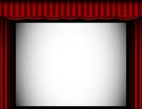 Priorità bassa del teatro Fotografia Stock
