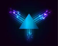 Priorità bassa del triangolo Immagine Stock Libera da Diritti