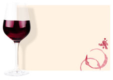 Priorità bassa del vino Immagini Stock Libere da Diritti