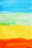 Priorità bassa del Watercolour Immagine Stock