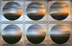 Priorità bassa dell'acciaio inossidabile Fotografia Stock