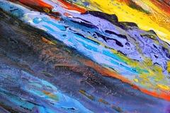 Priorità bassa dell'acquerello di arte astratta Immagine Stock Libera da Diritti