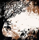 Priorità bassa dell'albero di Grunge, vettore royalty illustrazione gratis