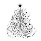 Priorità bassa dell'albero di Natale,   illustrazione vettoriale