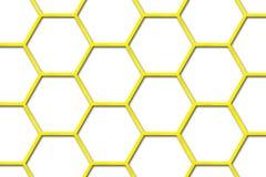 Priorità bassa dell'alveare dell'ape Fotografia Stock