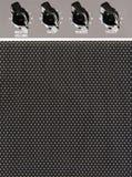 Priorità bassa dell'amplificatore della chitarra Fotografie Stock Libere da Diritti