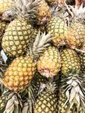Priorità bassa dell'ananas Immagini Stock