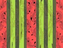 Priorità bassa dell'anguria del grunge di vettore Illustrazione Vettoriale