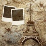 Priorità bassa dell'annata di Parigi Fotografia Stock Libera da Diritti