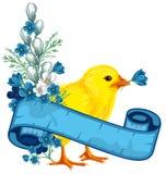 Priorità bassa dell'annata di Pasqua illustrazione vettoriale