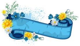 Priorità bassa dell'annata di Pasqua royalty illustrazione gratis