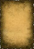 Priorità bassa dell'annata - vecchio documento Immagine Stock Libera da Diritti