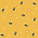 Priorità bassa dell'ape illustrazione di stock