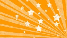 Priorità bassa dell'arancio di Grunge Fotografia Stock Libera da Diritti