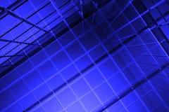 priorità bassa dell'azzurro 3D Fotografie Stock