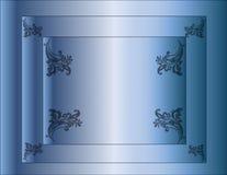 Priorità bassa dell'azzurro di gradiente Fotografia Stock