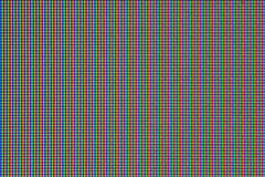 Priorità bassa dell'estratto del pixel di RGB fotografie stock libere da diritti